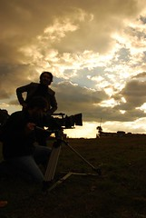 El director y el cmara.... (Sr Atlantico) Tags: deluxe requiem videoclip exteriores rodaje