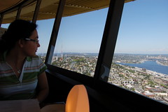 Space needle: Seattle. June 2007. (rae.joanna) Tags: from view space needle