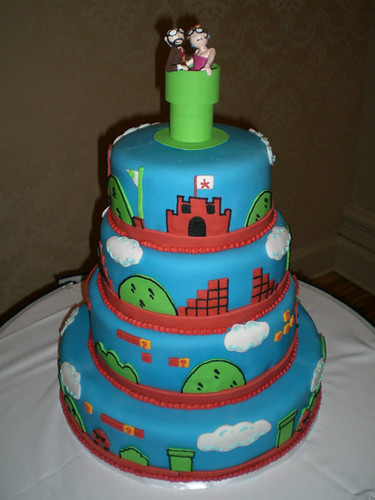SMB wedding cake, featuring Level 1-1