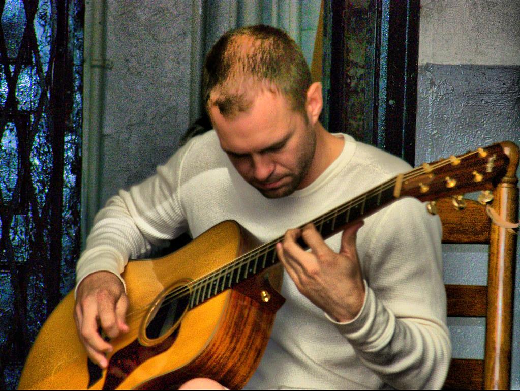 Doorway Musician