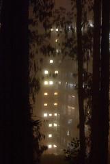 beam me up (m krause) Tags: night fog sanfrancisco california sf ca ucsf road light hike backpack foggy mist scatteredlight megankrause city thecity sanfranciscobayarea bayarea bay goldengate frisco urban mkrause m mkrausephotography megankrausephotography wwwmegankrausecom street longexposure sanfran