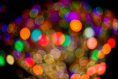 Out of Focus (arkworld) Tags: colors lights interestingness bokeh outoffocus downtowndisney canon50mmf14 interestingness108 idec07