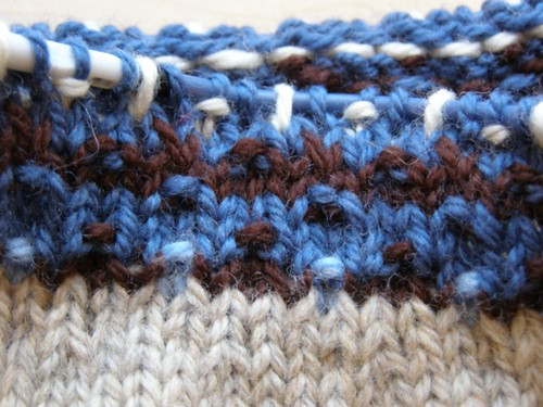 Closeup of non jacked-up yoke pattern