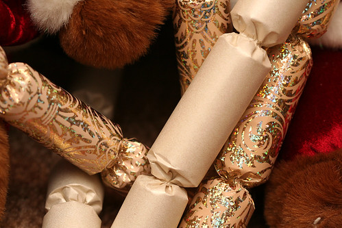 Plush with Christmas Crackers