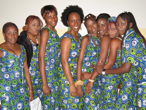 The ladies of Kinshasa sing and spit fyah!