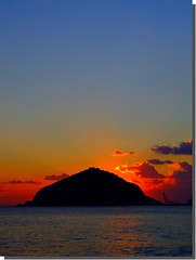 Techno Sunset (Giorgio Di Iorio Photo - Gioischia) Tags: sunset sea sky italy italia tramonto mare cielo techno ischia italians themoulinrouge maronti mywinners fujis9600 gioischia