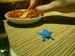 frog and salsa