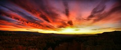Dawn at Bryce Canyon (Creativity+ Timothy K Hamilton) Tags: park morning panorama orange sun sunrise landscape dawn utah twilight bravo 500v20f pano vivid canyon national bryce searcthebest 1500v60f 1000v40f timothykhamilton specsky