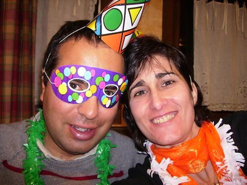Nacho y Carmina Nochevieja 2007 en el Hotel Turpí de Benasque