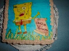 Spongyabob 2 (pinter_szilvi) Tags: paint marzipan torta