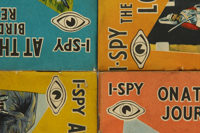 I-SPY books