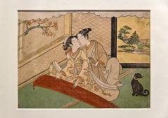 lust (Lú_) Tags: toronto japan print japanese erotica eros rom royalontariomuseum woodblock ukiyoe utata:project=sins utata:sin=lust