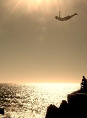 Cliff Diver, Mazatlan, Mexico