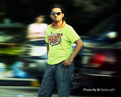 Ahmad ,, (Nasser Bouhadoud) Tags: camera blur color colors look photoshop canon eos 350d friend ahmad edit nasser doha qatar أحمد sealine alghanim saher ناصر الغانم allil saherallil بوحدود