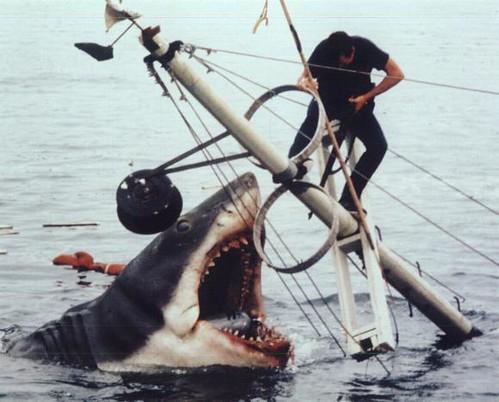 tiburones gigantes impression