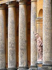 Blenheim columns (dachalan) Tags: uk england statue unitedkingdom pillar columns palace unescoworldheritagesite unesco worldheritagesite blenheim pillars woodstock oxfordshire blenheimpalace westoxfordshire dachalan nikond40x photofaceoffwinner pfogold