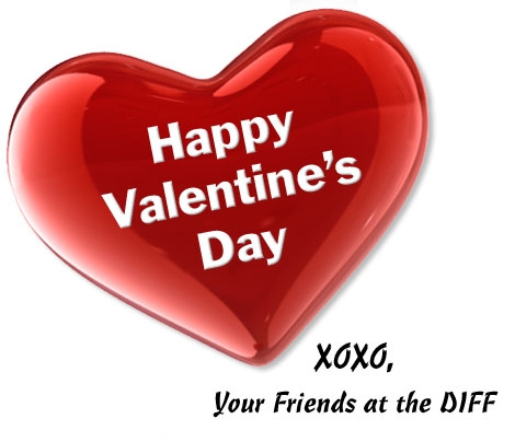 Happy Valentine's Day from Quicken Loans DIFF blog!