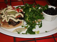 2008 03 - Native Foods Portobello Sausage Burger
