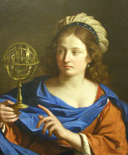 Guercino: Personification of Astrology (c. 1650-55)