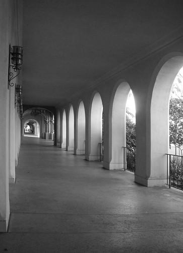 Hallway at Balboa Park