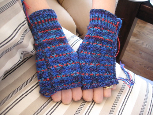 completed handwarmers