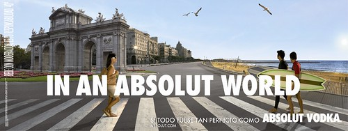 Absolut Vodka - Madrid con playa