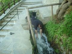 Touching the water (sotoz) Tags: water falls kozani kataraktes velvento metoxi aliakmonas belbento