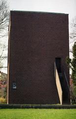 cubism (rotabaga) Tags: wall stairs gteborg clocktower tegel vgg kyrktorn hrlanda