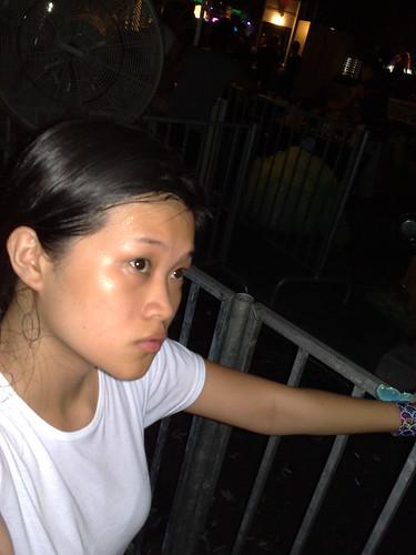 Sweaty Kim.