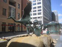 Minnesta Birds Fountain by Elliot Offner