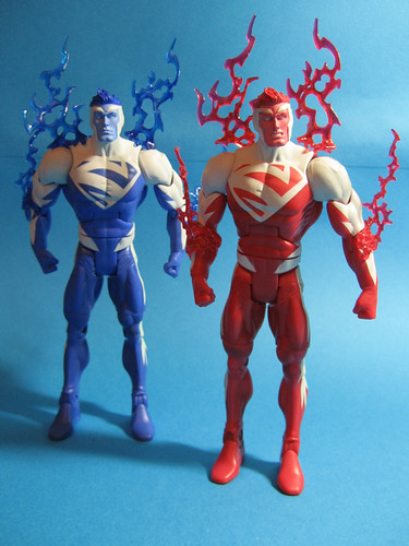 Superman Red and Superman Blue