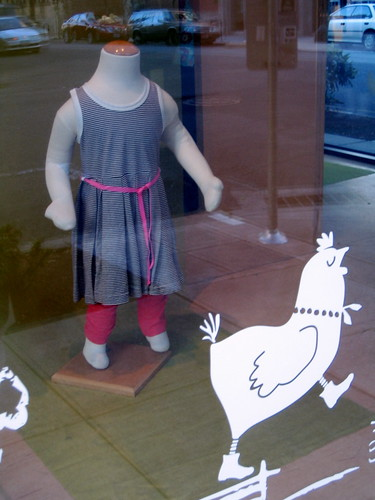 Headless Child/Conceited Boot-Wearing Chicken