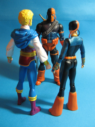 Jericho, Deathstroke and Ravager