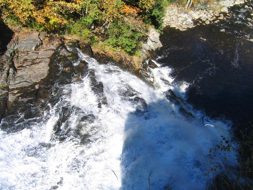 The falls from the lookout