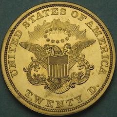 1949 Double Eagle reverse