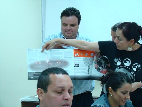 Los participantes recibieron materiales educativos de respaldo