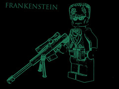 Frankenstein (CrazyBrck) Tags: lego custom minifigure brickarms brickforge crazybrick