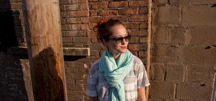 borrowed striped pocket tee jeans scarf summer outfit dashdotdotty dash dot dotty fashion blog j.crew sandals