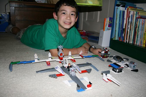 Adam's Star Wars Lego creation