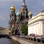 St-Petersburg: Cathedral of the Saviour-on-the-Blood