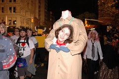 Halloween Parade 2007: Headless (LarimdaME) Tags: nyc halloweenparade oct31 halloween parade costume headless