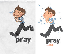 pray - sketch (inkdesigner) Tags: boston illustration pray screenprinting gocco printmaking inker printgocco inkdesigner