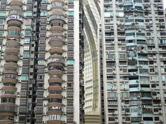 Macau_Apartments (@ThetaState) Tags: china apartments panasonic balconies macau airconditioners macao streetwall tz1