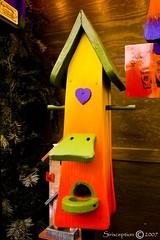 Somebody home? (sirixception) Tags: christmas red orange black colour green yellow germany rouge deutschland groen noir pentax weihnachtsmarkt geel rood zwart mnster oranje duitsland kerst kerstmarkt kleur k100d sirixception sirixceptionfotografie