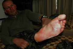 Bigfoot (blabbr) Tags: feet training army foot march military blisters blister bigfoot officer instruction armee sergeant militr 100km camd70s setmilitary lens2880mm kitionnet