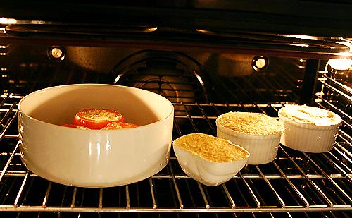 香煎珠雞佐番茄Soufflé-080104