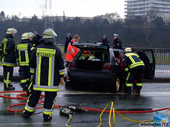 Verkehrsunfall Biebricher Allee 05.01.08