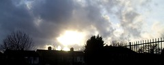 Tolworth sun setting (anthonyfalla) Tags: sky clouds sunsetting