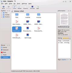 KDE4 - Dolphin
