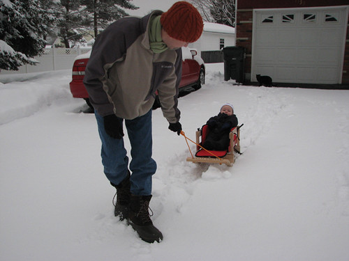 Sled ride 01012008